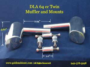 DLA 64cc Twin Engine